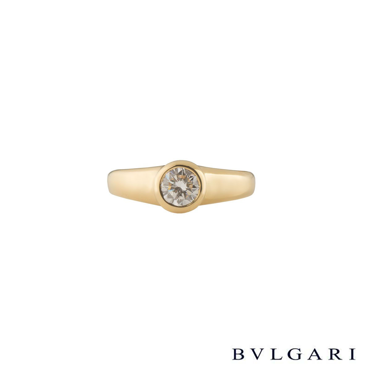 Bvlgari Diamond Ring 0.49ct F/VS1
